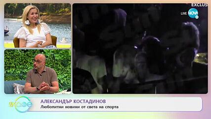 Александър Костадинов: Най-любопитното от света на спорта - На кафе (04.05.2021)