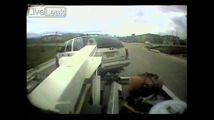 Инцидент с пътна помощ