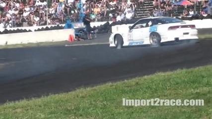 Nissan 180sx Silvia Drifting