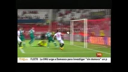 """Тимовете от Севиля с добър аванс преди реваншите в """"Лига Европа"""""""