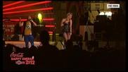 Deep Zone ft. Nadia - Made For Loving You (live) - Coca Cola Happy Energy Tour 2012 - Sofia
