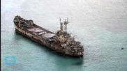 Philippines Reinforcing Rusting Ship On Spratly Reef Outpost