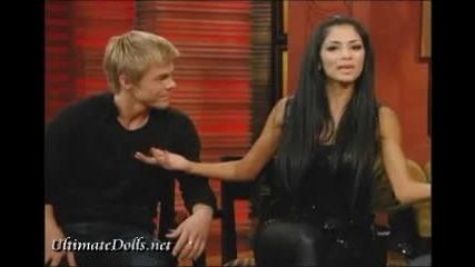Nicole and Derek interviwe on Regis and kelly