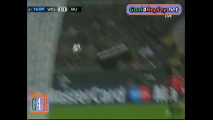 08.12 Волсбург - Манчестър Юнайтед - 1:3 - Дзеко Гол