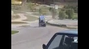 Truck drift amazing..mp4