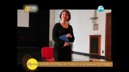 На кафе с българите по света - разговор с актрисата Жана Попова - На кафе (12.05.2014г.)