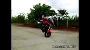 Много луд трик с мотор