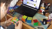 Така се подрежда кубчето на Рубик - Level Expert