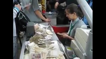 Руснаци си купуват бира - вижте как платиха !