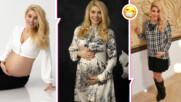 Бременната с близнаци Ева Веселинова показа голото си коремче, сподели как се чувства