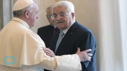 Vatican Says Pope Meant no Offense Calling Abbas 'angel of Peace'