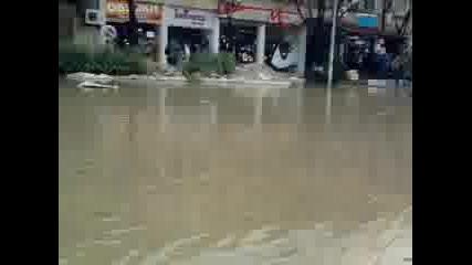 Харманли наводнение част-1