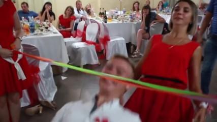 ⭐️ Лимбо танц ஐ конкурс на руска сватба ⭐️