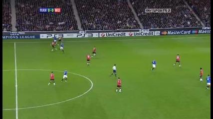 Rangers v Man United Sky Highlights - football video 24.11.10