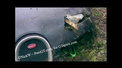 Bugatti Veyron - Катастрофирало