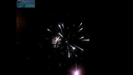 Новогодишна заря пред общината в Ямбол 2013-2014