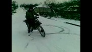 Сузуки Тиес 80 екс Дрифт на сняг