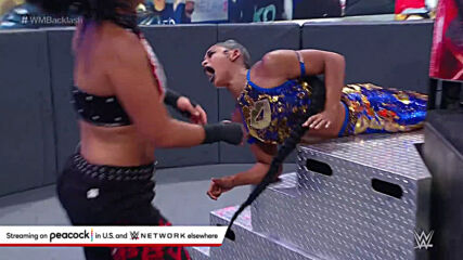 Bayley slams Bianca Belair onto the steel steps: WrestleMania Backlash 2021 (WWE Network Exclusive)