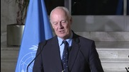 Switzerland: De Mistura emphasises importance of US-Russian cooperation in Syria