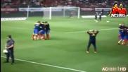 Мата засрами Раул Албиол на тренировката на Испания