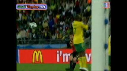 Spain vs South Africa 3 - 2