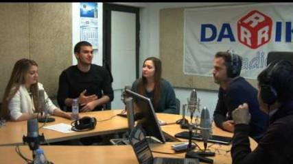 Кикбокс шампиони в студиото на Дарик радио