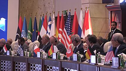 Libya: FM Najla el-Mangoush addresses 'Libya Stabilisation Conference' in Tripoli
