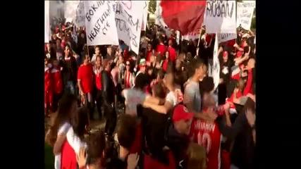 Феновете на ЦСКА искат справедливост за клуба