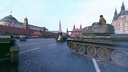 Russia: Thousands of troops march on Red Square to commemorate legendary 1941 parade