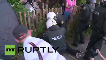 Germany: Clashes erupt at anti-G7 march in Bavaria