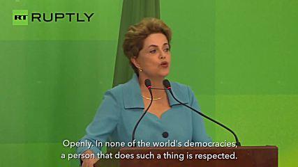 Rousseff Pledges to Fight On Despite Impeachment Vote