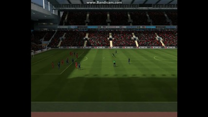 Fifa 14 - Luis Suarez vs Robin Van Persie {free Kick Battle}