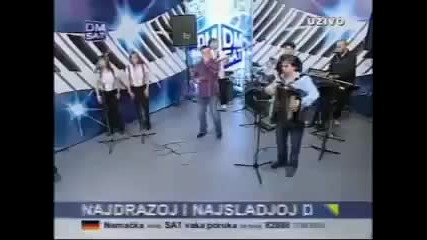 Halid Beslic - Nije ljubav vino - (Live) - Sto Da Ne Show - (TV DM)