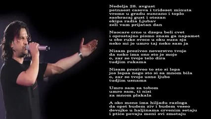Aca Lukas - Nisam preziveo - (Audio 2003)