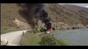 Готин начин за гасене на горяща лодка