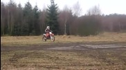 Ktm Sx-f 250 2011 playing in the mud