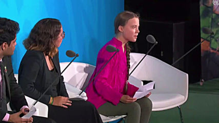 UN: 'You've stolen my dreams and childhood' - Thunberg at Climate Action Summit