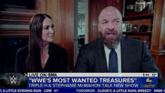 "Stephanie McMahon and Triple H talk ""Treasures"" on ""GMA"""
