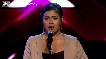 Тя разплака журито! X-factor Австралия 2013