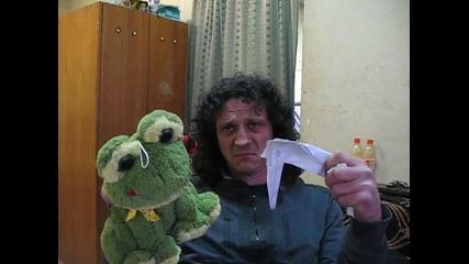 Жабата и щъркела :)