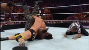R-truth & Xavier Woods vs. Rybaxel Wwe Superstars, May 29, 2014