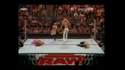Raw 29 Divas Battle Royal For #1 Contender