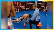 Боксьорите се шегуват доста болезнено !