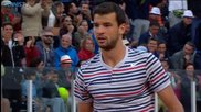 Rome 2014 - What a Shot From Grigor Dimitrov