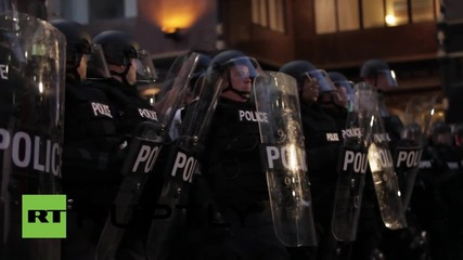 USA: Scuffles in Cleveland follow officer's acquittal over unarmed African-American deaths