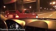 Mercedes Benz E63 Amg vs Mitsubishi Lancer Evo 6 Tme