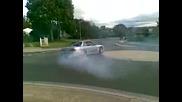 Street drift с Nissan