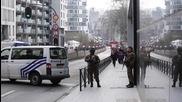Брюксел блокиран след няколкото бомбени атаки