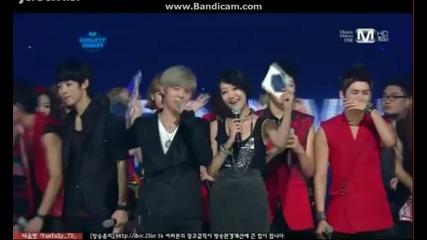 M! Countdown Winner - Infinite ( Be Mine )