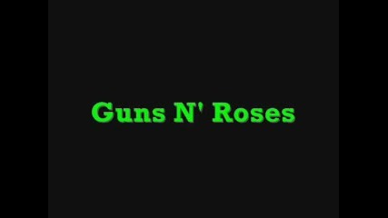Guns N_ Roses-welcome to the Jungle